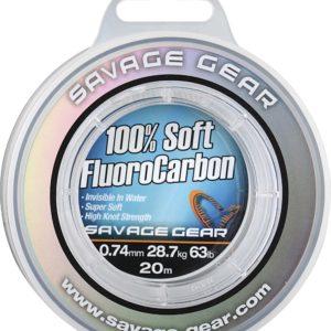 Savage Gear 100% Soft FluoroCarbon 20m