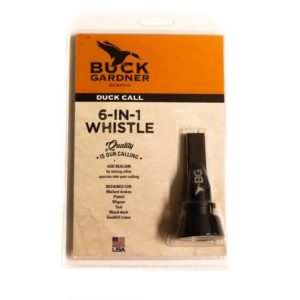 Buck Gardner 6-in-1 whistle