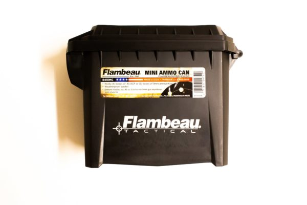 Flambeau mini ammo can