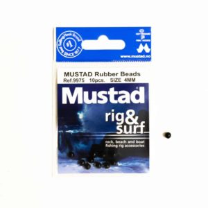 Mustad rubber beads 4mm