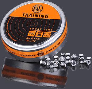 RWS sport l training 45mmR2318872 RWS Training 4,5mm 0,53g 500kpl