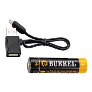 burrel 3100mah 18650 akku microusb Burrel 3100 mAh 18650 -akku MicroUSB