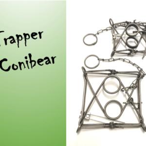 Trapper Conibear logo Trapper Conibear TC-120 hetitappavat raudat