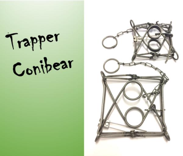 Trapper Conibear TC-120 hetitappavat raudat