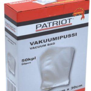 vakuumipussi 20 x30 Patriot vakuumipussi 20 cm x 30 cm