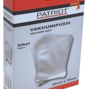 vakuumipussi 25 x35 1 Patriot vakuumipussi 50 kpl 25 cm x 35 cm