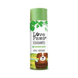 lovepaws shampoo havainnekuva 2021 LovePaws koirashampoo 250ml