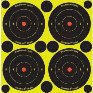 Shoot n c 3 inch Shoot-N-C 3 Inch Bulls-Eye ampumataulu, reagoiva
