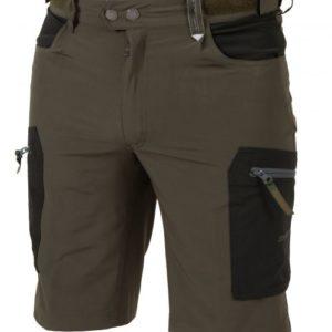 Customfit shortsit miehet Dovrefjell Comfort Fit shortsit, tumman vihreä-harmaa, miehet