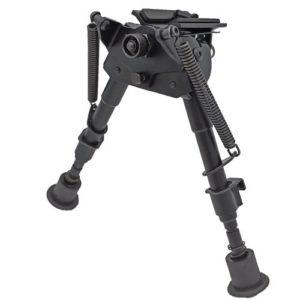 NITEforce Bipod Pivot ammuntatuki 500x500 1 NITEforce Bipod puolimatala ammuntatuki, 23cm – 33cm säädettävä korkeus ja kallistus