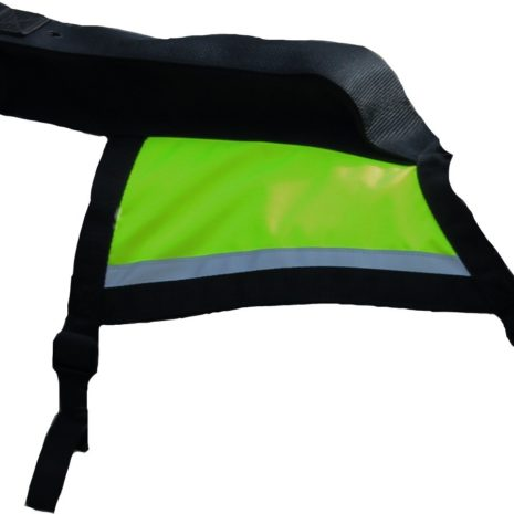 GPS hunting vest yellow Kaisu Seppä