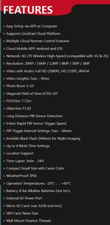 Uovision-Compact-LTE-4G-20MP-Full-HD-specs