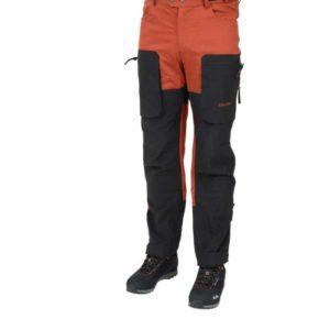 X Motion housut oranssi musta Dovrefjell X-Motion Orange-Black, unisex