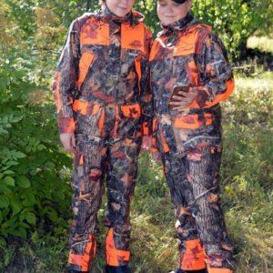 Dovrefjell Hunter Vision Pro lasten metsastyspuku 12v pojat kuvassa 500x655 1 Dovrefjell Hunter Vision Pro housut lapsille 4-14 v